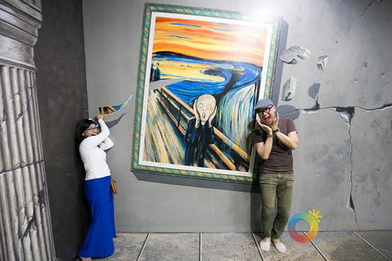 Creative 3D Interactive Museum in Philippines