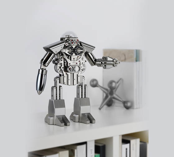 Melchior - Robot Clock Reminds You of Your Childhood Dreams