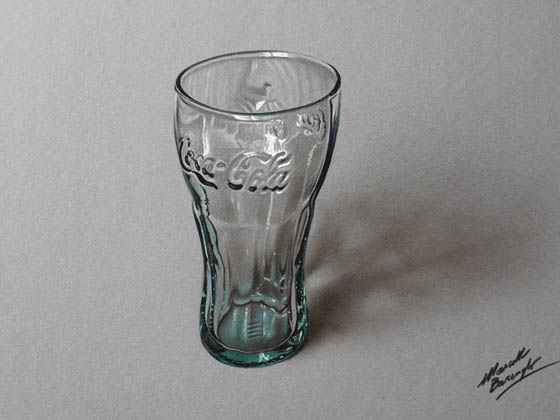 Hyper-realistic Color Drawings Drawings of Everyday Objects