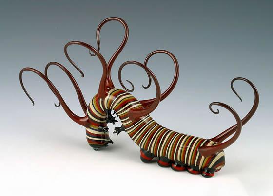 Hand-Blown Glass Creatures By Scott Bisson