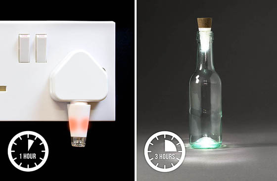 Bottlelight: Turn Empty Bottles Into Lamps