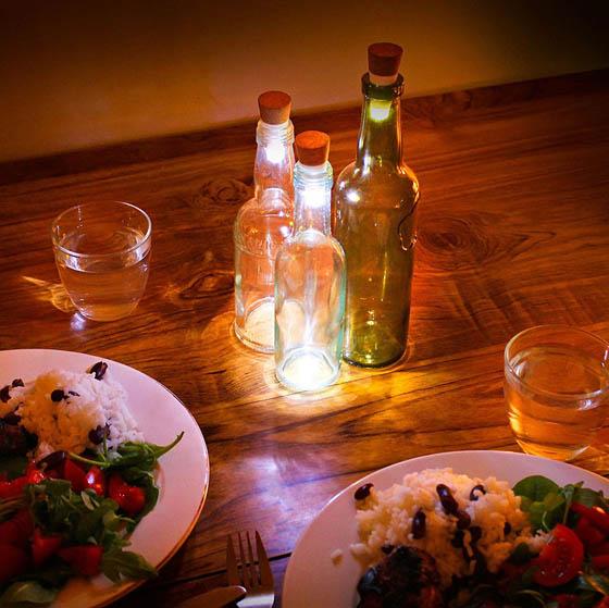 Bottlelight: Turn Empty Bottles Into Lamps