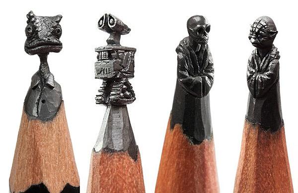 Amazing Miniature Pencil Tip Carving by Salavat Fidai