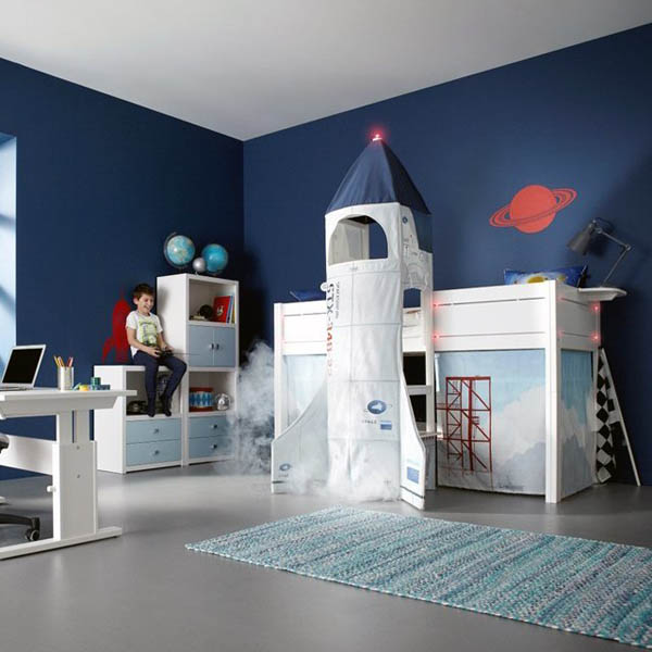 Galaxy Your Home: 17 Space Themed Interior Design