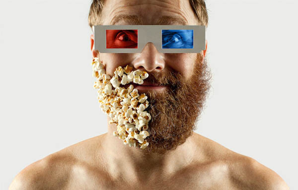 Fifty Fifty Selfie Barber Shop: Half Beard Show