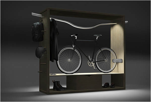 Bike Shelf: For The Uncompromising Urban Biker