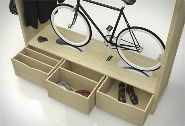 Bike Shelf: For The Uncompromising Urban Biker