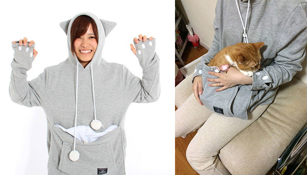 Cat Hoodie: If You Want Take Your Cat Wherever You Go