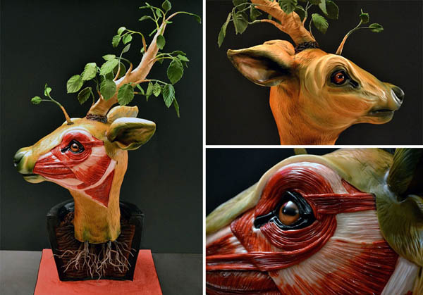 The Creepiest Cake Sculpture by Annabel De Vetten