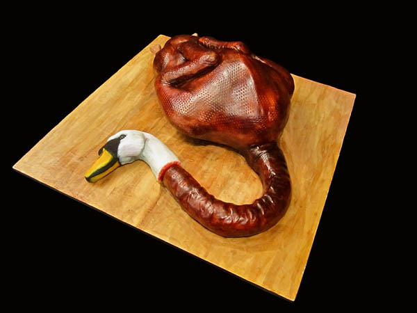 The Creepiest Cake Sculpture by Annabel De Vetten