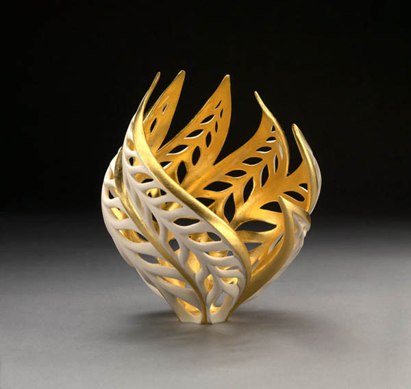 Beautiful Swirling Sculptures Glow From Inside
