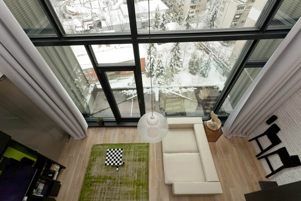 Impressive Loft Design with Bohemian and Adventurous Style