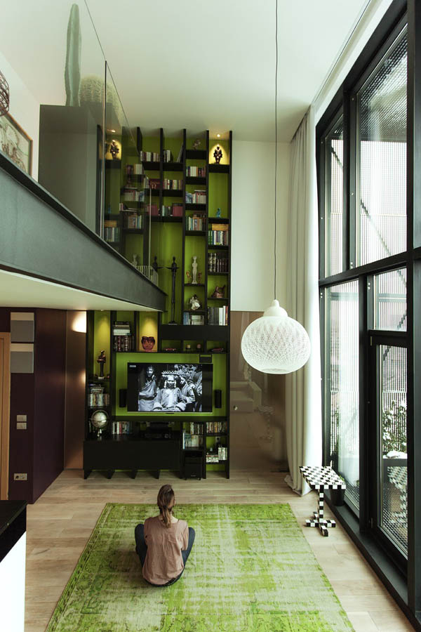 Impressive Loft Design with Bohemian and Adventurous Style