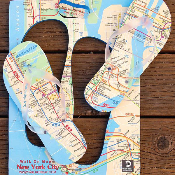 12 Creative Map Inspired Designs