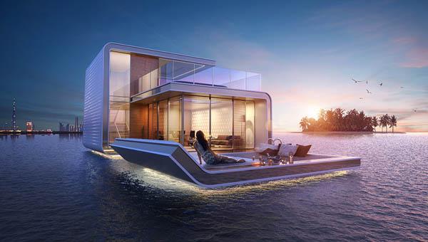 Floating Seahorse: Luxury Floating Villa With Breathtaking Underwater Views