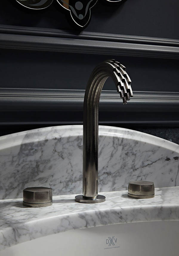 Unusual 3D Printed Metal Faucets Present Water In An Impossible Way
