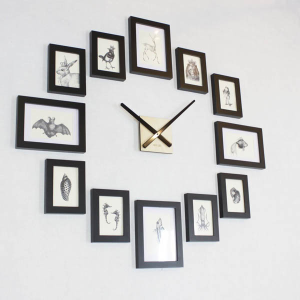 16 Cool And Unique Wall Clock To Decorate Your Wall Design Swan