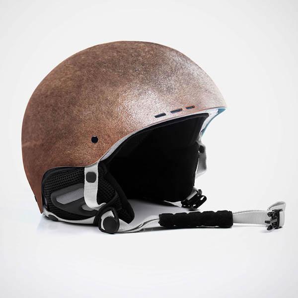 Probably the Most Creepy Helmet: Human-Skin Helmets By Jyo John Mullor