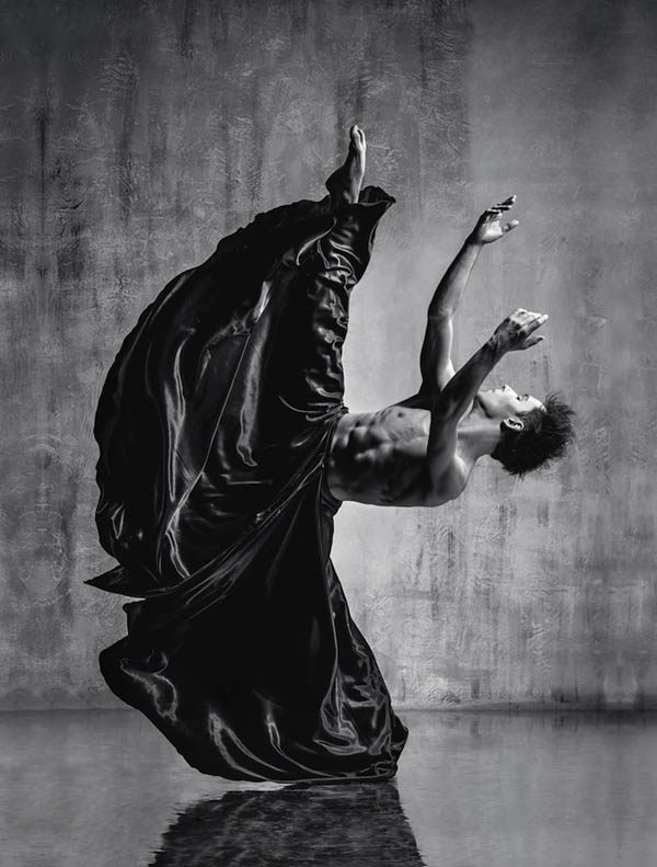 Stunning Dancer Portrait Reveal the Elegance of Bodily Movements