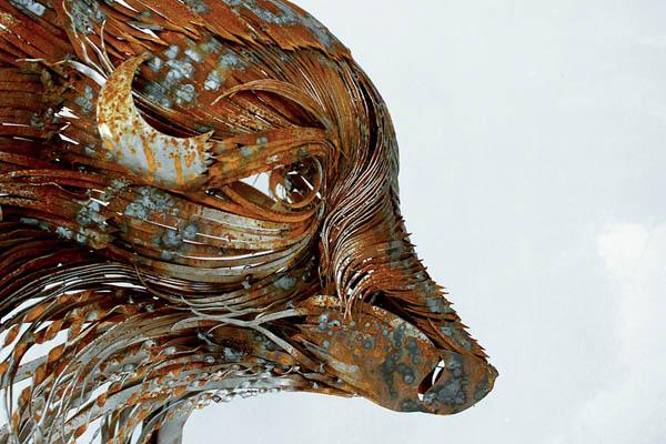 Incredible Mask Like Animal Head Sculptures by Selçuk Yılmaz