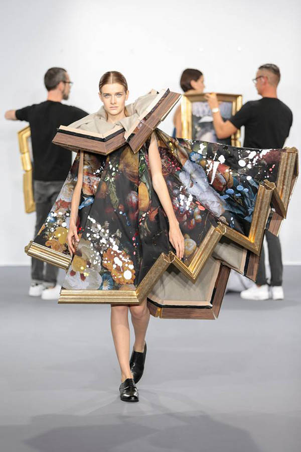 Framed Paintings? Wearable Art?
