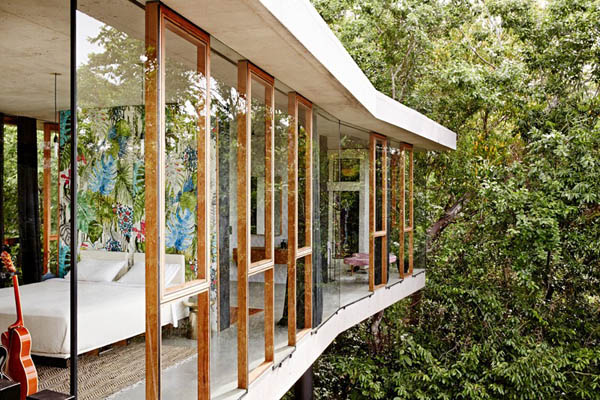 Playful Tropical Rainforest House in Queensland | Design Swan on rain england, amazon house, seashore house, hibiscus house, black house, rain nature, island house, rain cabin, science house, mango house, lavender house, tree house, cherry house, lime house, photography house, rain california, zoo house, rain new york, weather house, navy house,