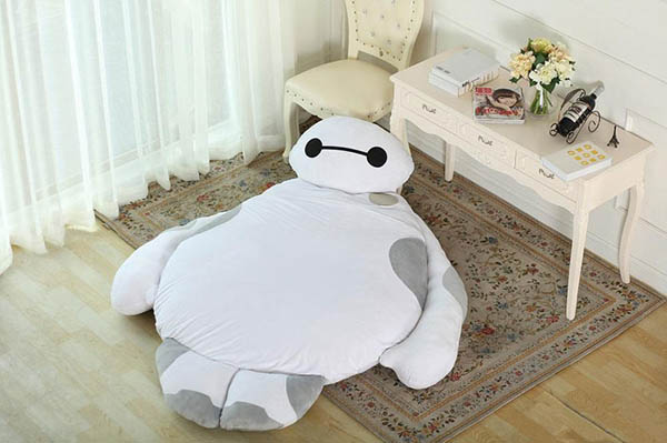 Life Size Baymax Sofa to Warm Up Your Heart and Hug You While You Sleep