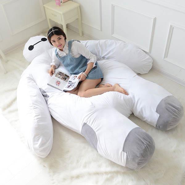 Life Size Baymax Sofa to Warm Up Your Heart and Hug You While You Sleep