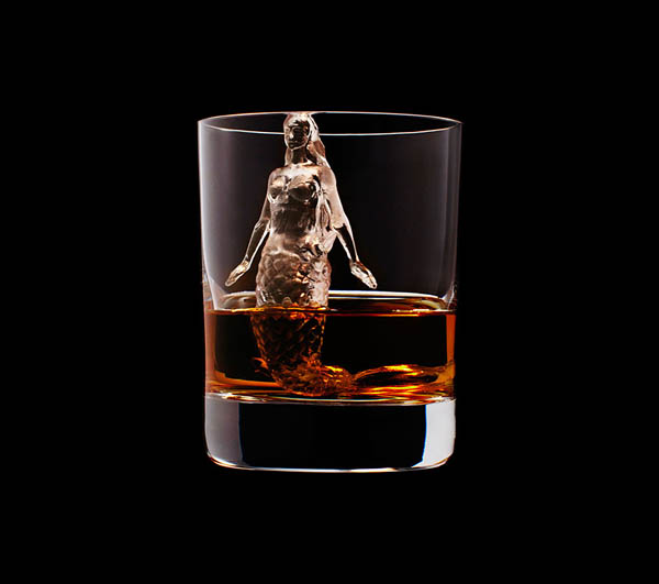 Stunning Ice Cube Sculptures