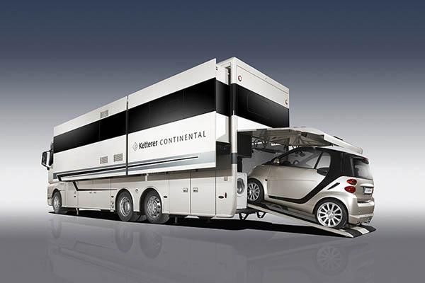 Luxury Home On Wheel: Ketterer Continental Motorhome
