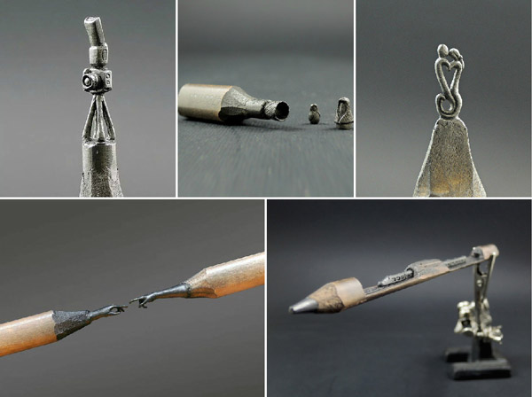 Stunning Pencil Tip Sculpture by Jasenko Đorđević