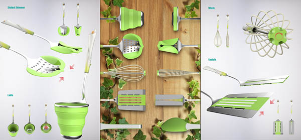Springtime for Your Kitchen Utensils