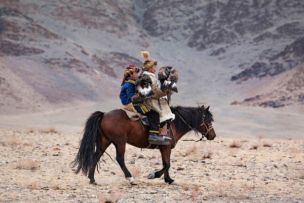 Traditional Eagle Hunting In Mongolia