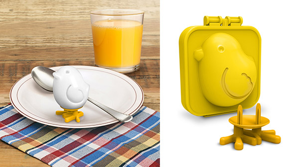 10 Playful Egg Molds Add More Fun to Your Plates