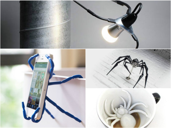 9 Cool Spider Shaped Product Designs