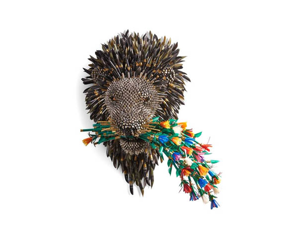 Unusual Animal Sculptures Made From Bullet Shells