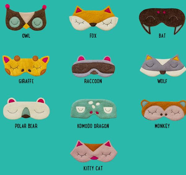 Cute Animal Sleeping Masks