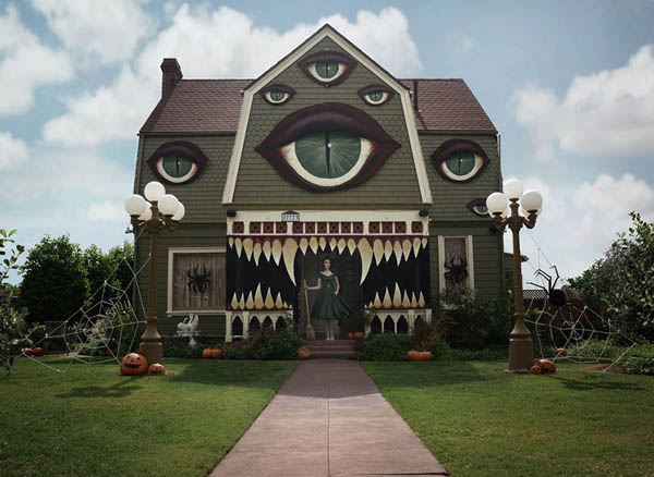 House with Eyes: Haunted House by Christine McConnell