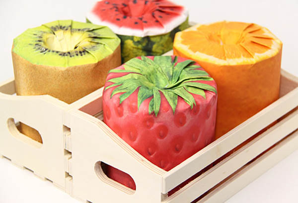 Unconventional Fruit Toilet Paper