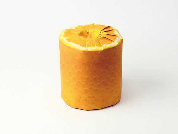 Unconventional Fruit Toilet Paper