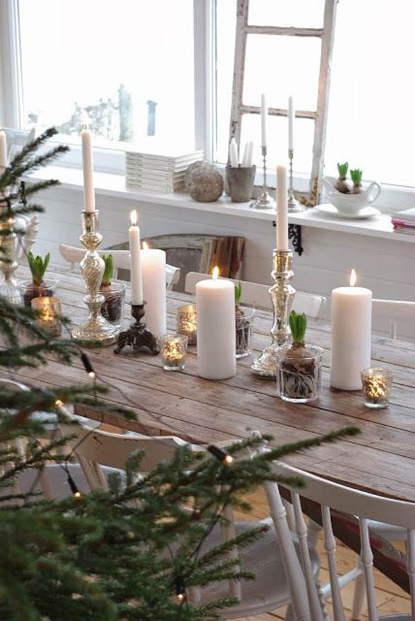 55 Gorgeous Christmas Table Setting Ideas
