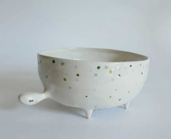 Most Adorable Ceramics by Polish Artist Marta Turowska