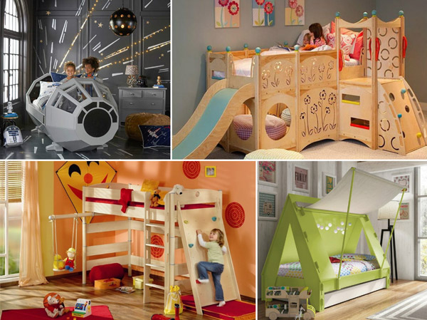 40 Coolest Kids Bed To Surprise Your Kids Design Swan New Cool Kid Bedrooms