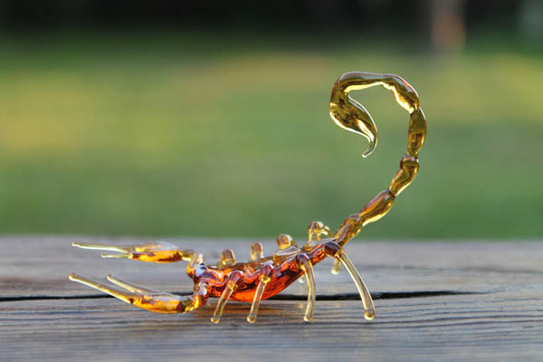 Delicate Handmade Glass Animal Sculptures