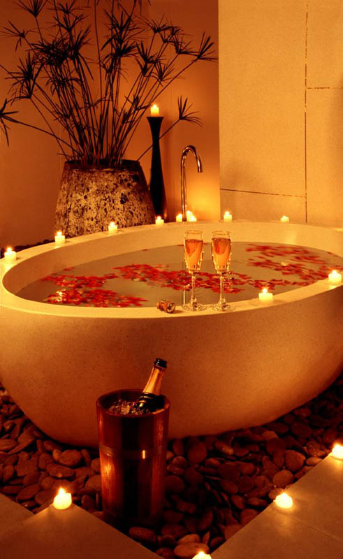 20 Romantic Bathroom Decoration Ideas For Valentines Day