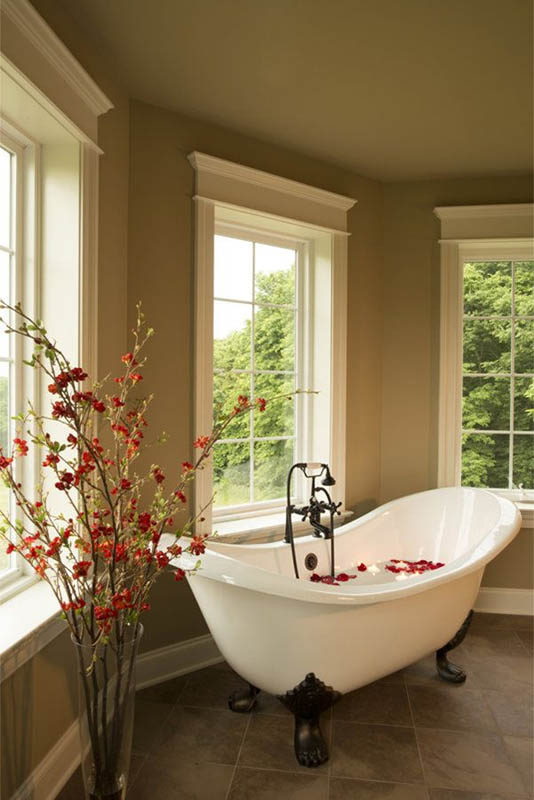 20 romantic bathroom decoration ideas for valentine s day design swan Romantic bathroom design ideas