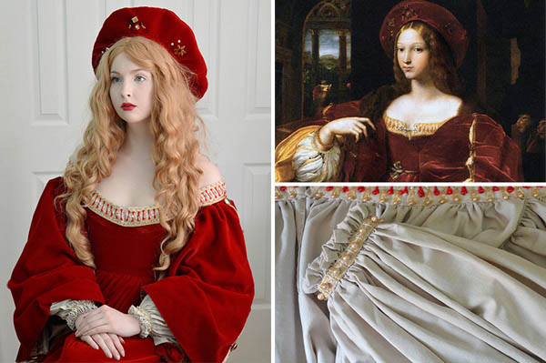 Incredible Dresses Sewed by Talented 18-Year-Old