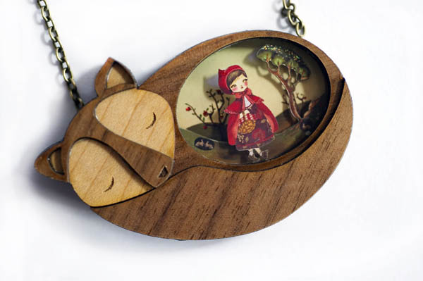 The Fairy-Tale Inspired Wooden Jewellery