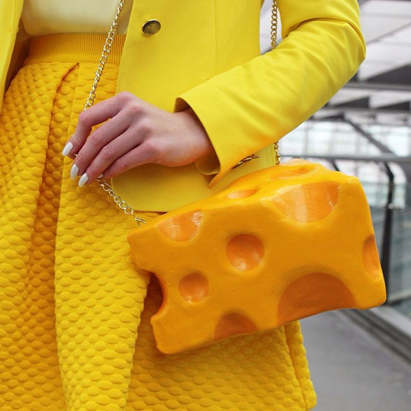 Crazy or Creative? Food-Shaped Purses by Rommy Kuperus