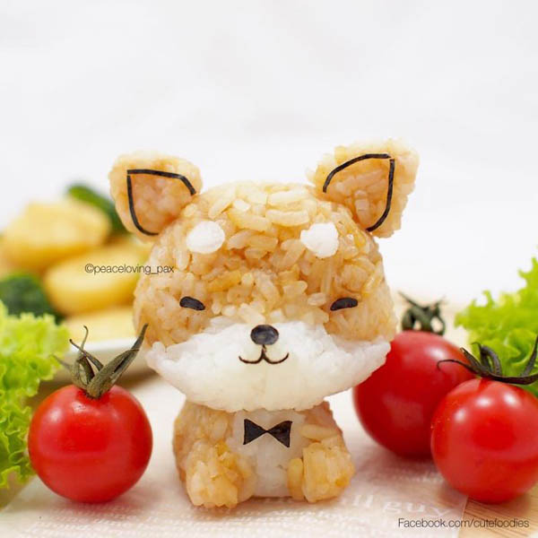 Too Adorable to be Eaten Rice Ball